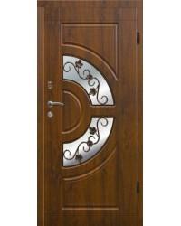 Входная дверь Элит 304 Ковка+стеклопакет