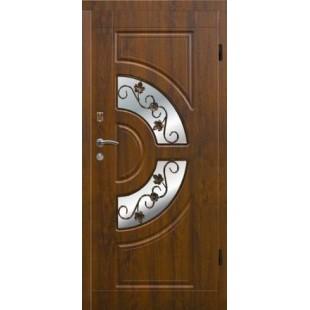 Купить Входная дверь Элит 304 Ковка+стеклопакет в Киеве
