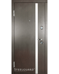 Входные двери AV-1 Стилгард (Steelguard) венге/белый шовк