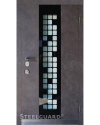 Входные двери Стилгард (Steelguard) Manhattan Grey Light серии Maxima улица