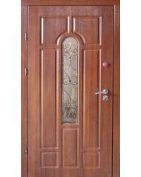 Входные двери Арка Redfort улица с ковкой