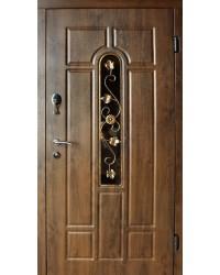 Входные двери Арка с ковкой Redfort серия стандарт плюс улица