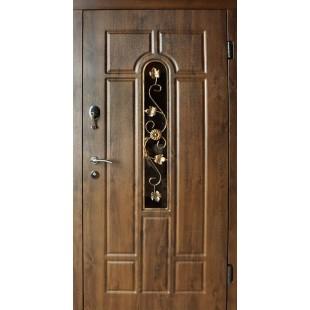Купить Входные двери Арка с ковкой Redfort серия стандарт плюс улица  в Киеве