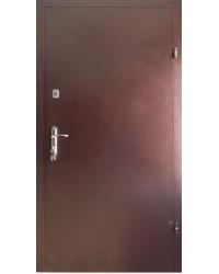 Входные двери Металл-металл с притвором Redfort серия оптима плюс улица