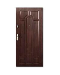 Двери входные - Арка квартира темный орех эконом.