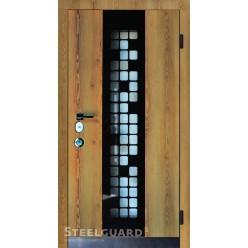 Входные двери Manhattan Golden Стилгард (Steelguard) серии FORTE улица