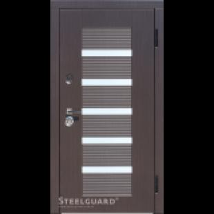 Купить Входные двери Milano Стилгард (Steelguard) двухцветная  в Киеве